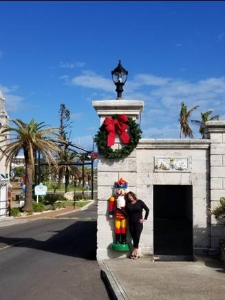 Christmas shopping Dockyards Bermuda