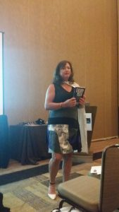 """Presenting SENSORY MEDIA to the """"family"""" at the PPAI Women's Leadership Conference"""